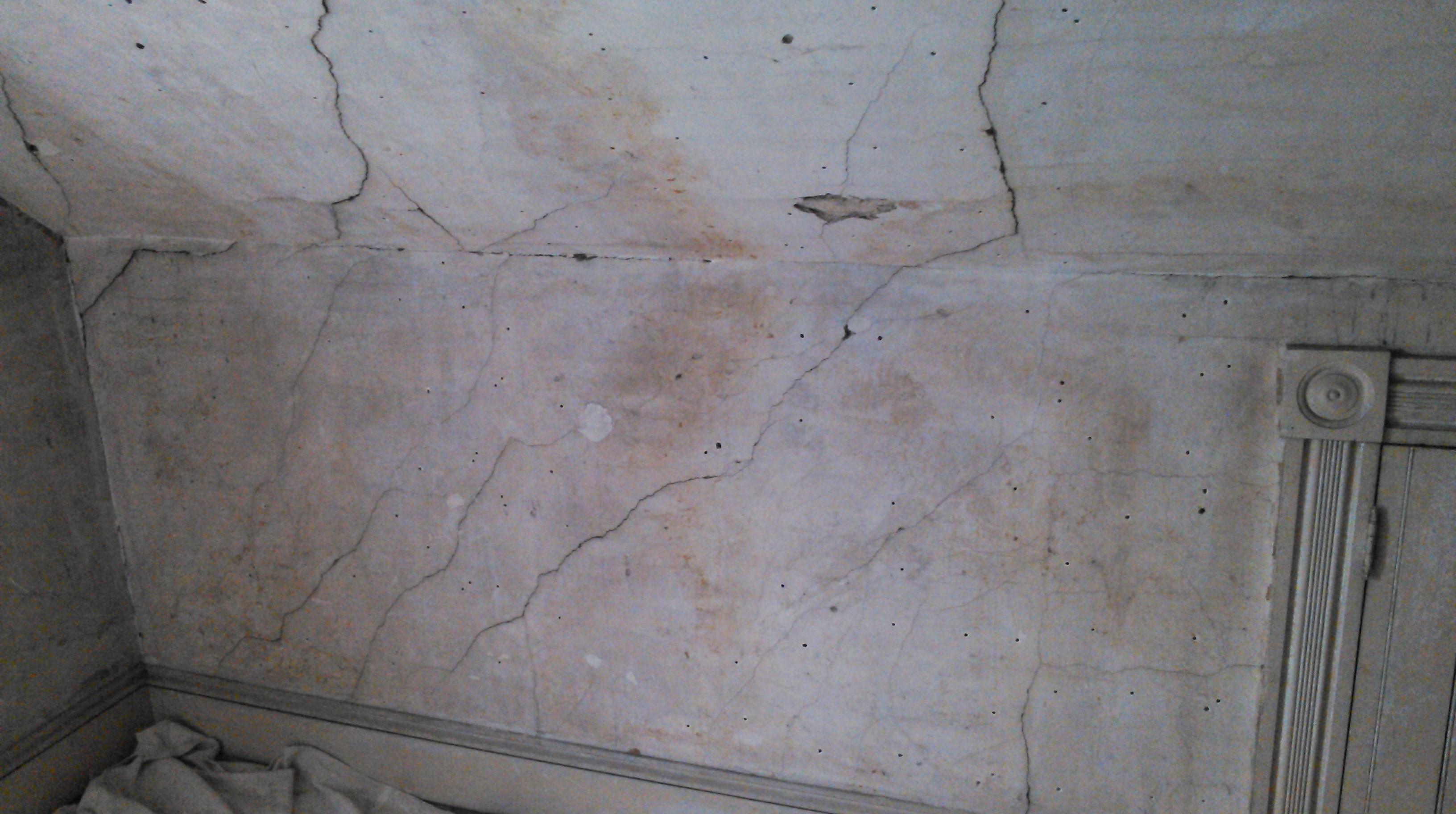 Plaster Repair Stone To Sand
